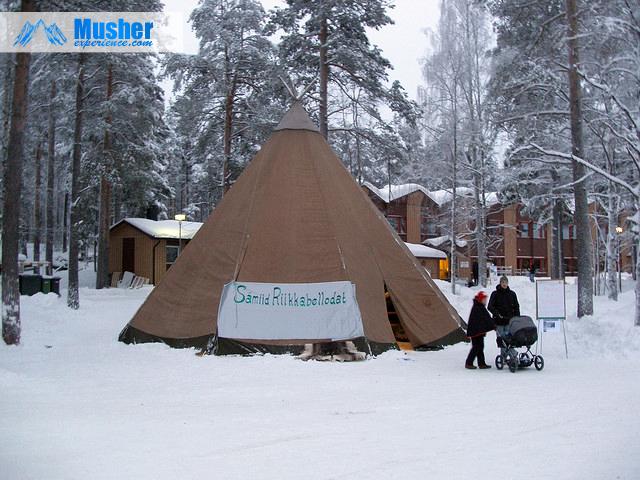Jokkmokk Market, a Sami TP Sweden