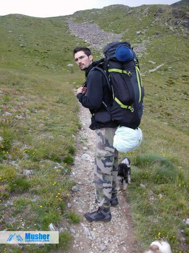 Le sac à dos Symbium Access en randonnée