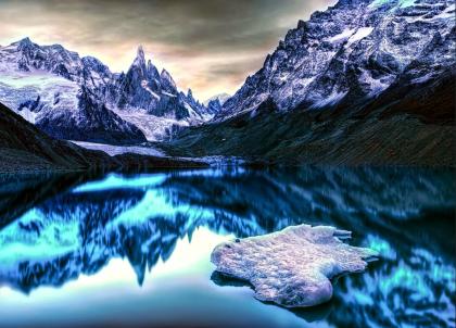 Lac Lago Toree, Argentine