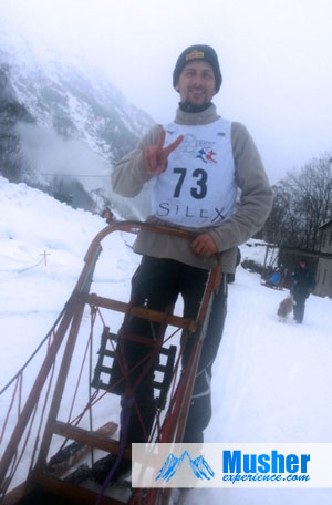 Gilles avant la course, Valgaude