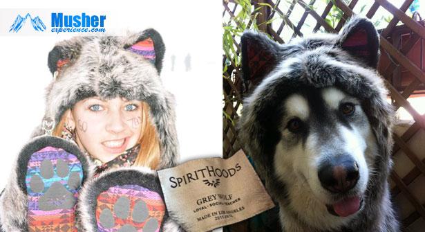 Spirithoods: bonnet loup