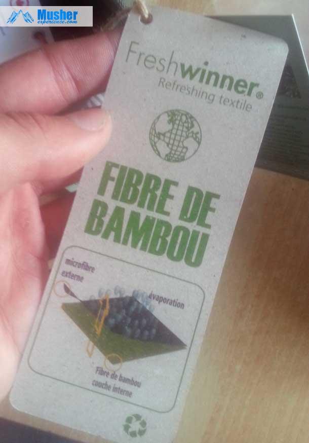 Vêtement en fibre de bambou