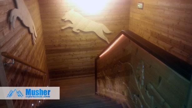 Escaliers du Parc Alpha