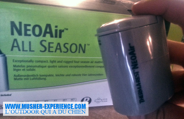 Neoair All season et mini-pompe