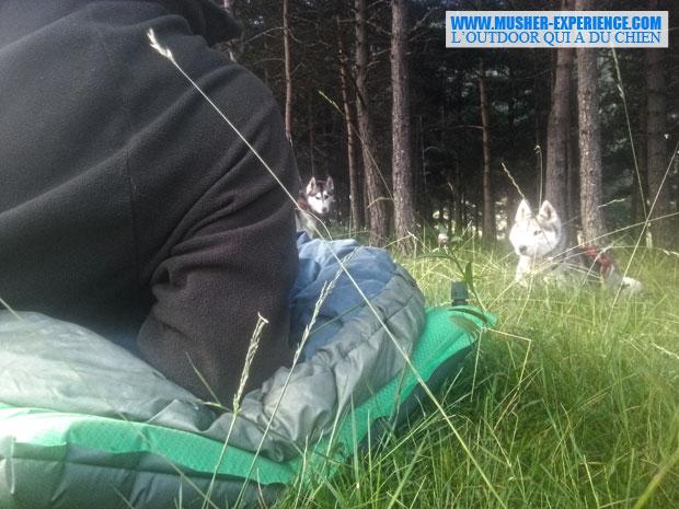 Matelas confort camping