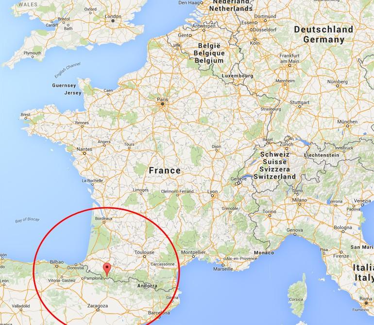carte-france-pyrenees