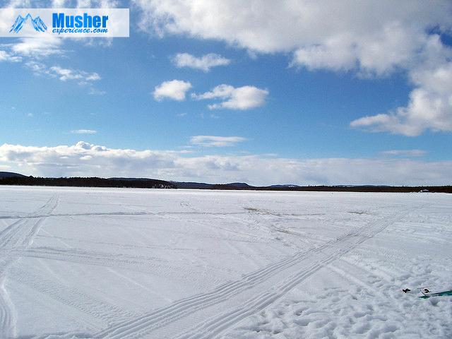le lac de Jokkmokk