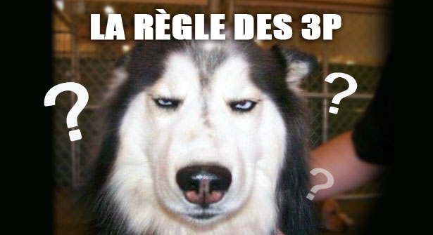 Le secret? La règle des 3P du musher