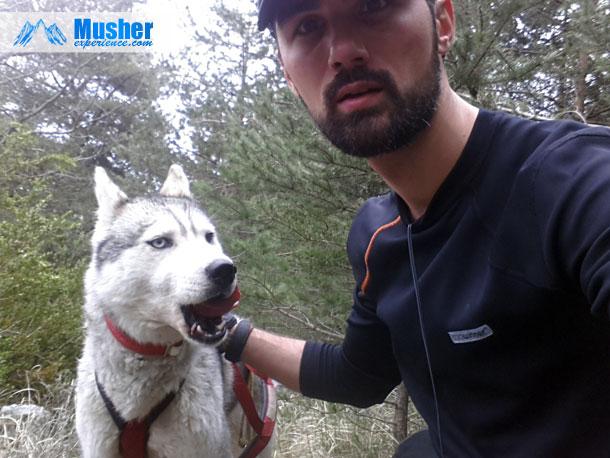 Cani-rando avec Akammak