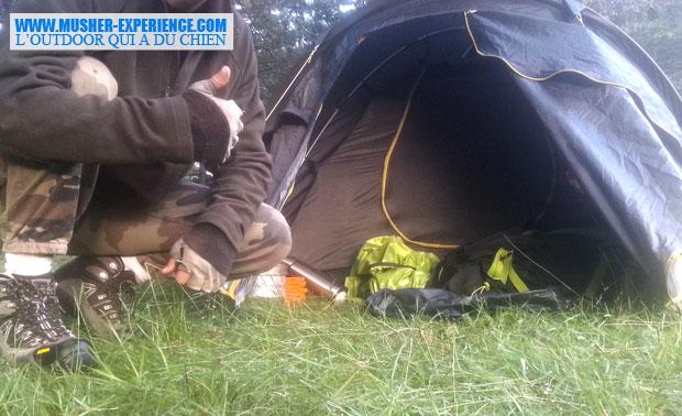 Installation rapide et facile de la tente 2 places