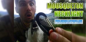 Mousqueton de neckline: necklight
