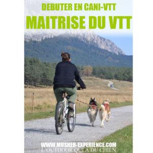 maitrise vtt debuter canivtt bikejoring debutant