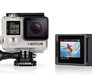 GoPro-HERO4-Silver-Camra-Embarque-12-Mpix-Ecran-tactile-Wifi-Bluetooth-0