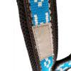 harnais canicross manmat bleu glacial bande reflechissante