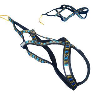 harnais xback Manmat classique bleu chien double