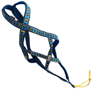 harnais xback Manmat classique bleu chien top