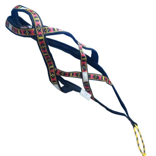 Harnais xback Manmat classique rouge chien top