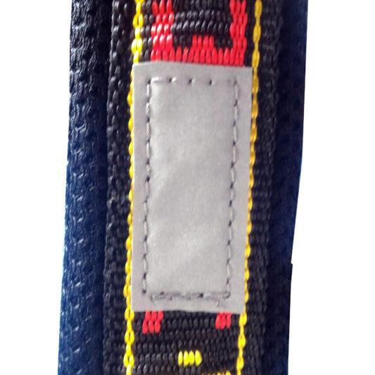 Harnais xback manmat classique rouge chien bandes reflechissantes