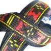 Harnais xback manmat classique rouge couture