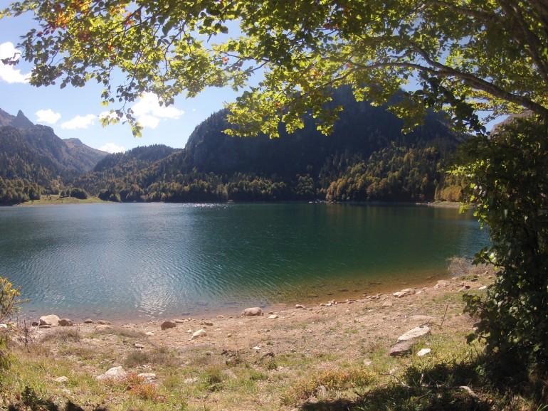 Un très beau lac en récompense de la randonnée