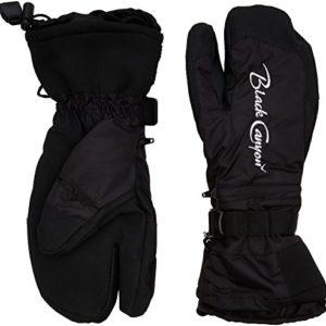 Black-canyon-gants-de-ski-pour-adulte-Large-Noir-Noir-0