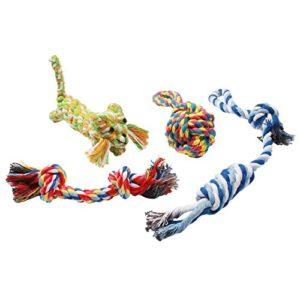 Durable-Pour-Animal-Domestique-Corde-Jouets-Chien-de-boule-de-jouet-interactif-pour-chien-Coton-Corde-noue-brossage-des-dents-jouet-pour-chien-Lion-jouet-pour-petits-et-moyens-chiens-Piqueurs-0