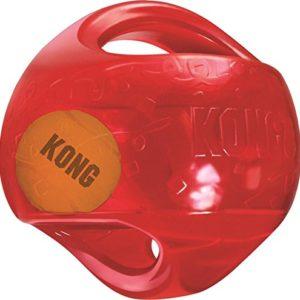 KONG-Jumbler-Balle-Jouets-Interactifs-pour-Chiens-LXL-Coloris-alatoire-0
