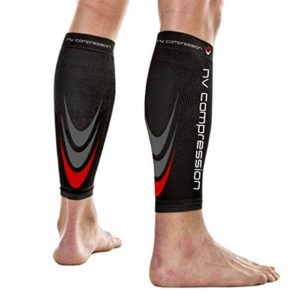 NV-Compression-365-Manchons-de-compression-pour-les-mollets-Noir-Compression-Sports-Calf-Sleeves-Black-For-Running-Cycling-Triathlon-Crossfit-Gym-Noir-Medium-0