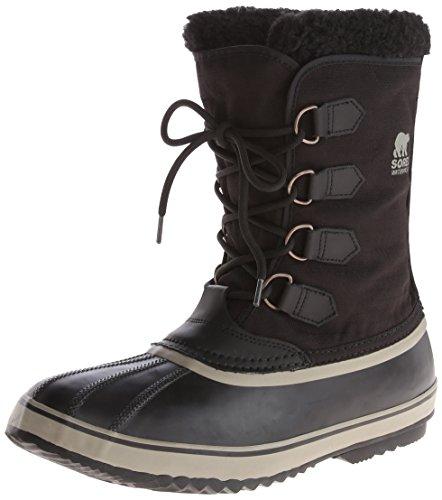 sorel caribou bottes de neige homme schwarz black. Black Bedroom Furniture Sets. Home Design Ideas