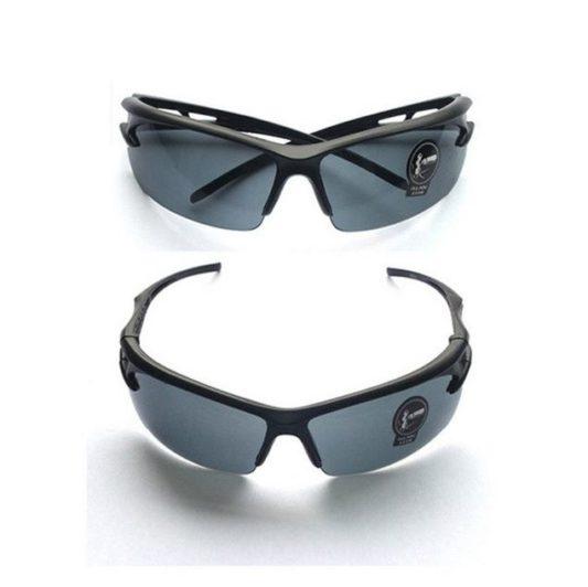 lunettes cani VTT protection éclats noire