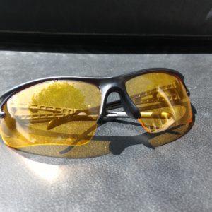 lunettes canivtt protection éclat verres jaunes