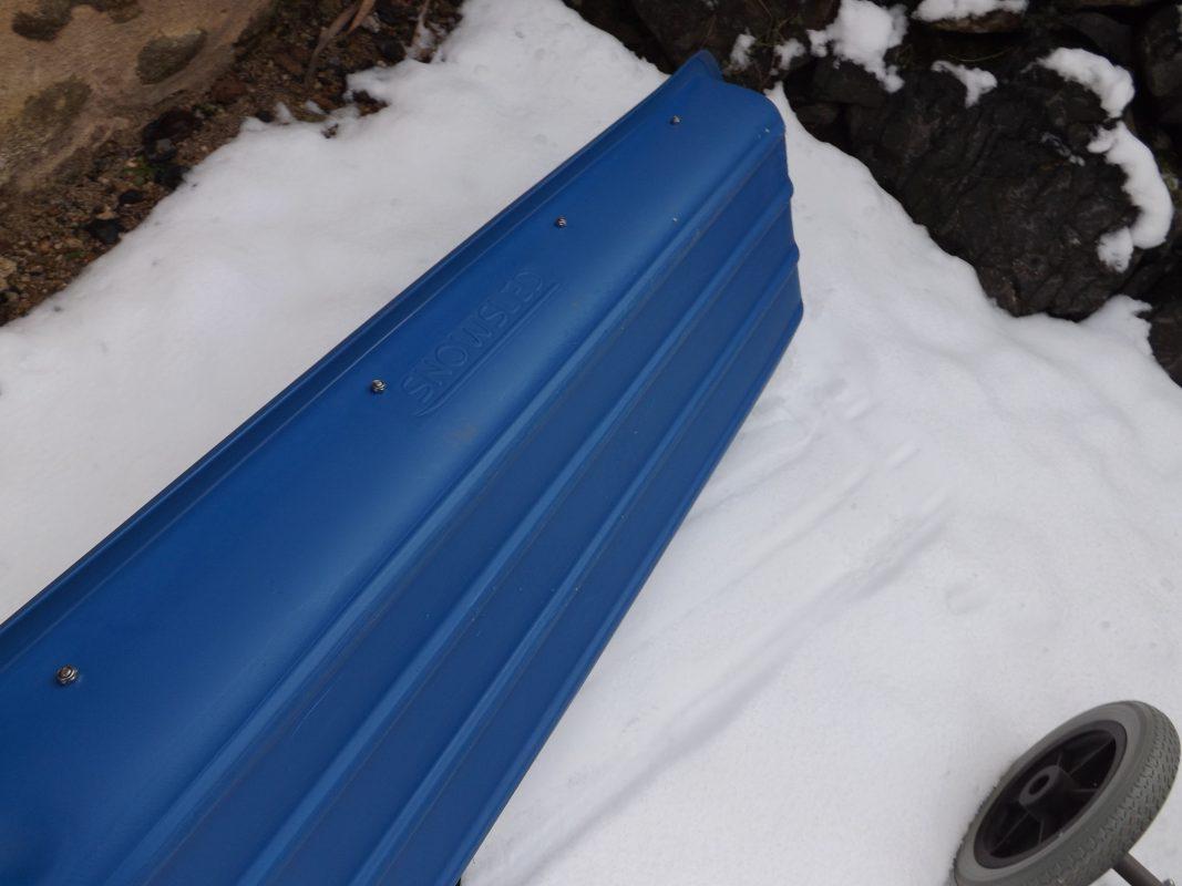 Pulka: transporter de l'équipement sur la neige