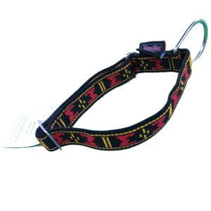 Collier pour chien Manmat - collier de chien sport en nylon rouge grosse boucle