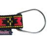 Collier Manmat boucle Polar en O – collier pour chien rouge et noir