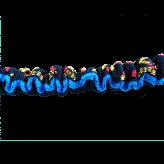 Ligne de trait manmat canicross canivtt mono chien elastique amortisseur