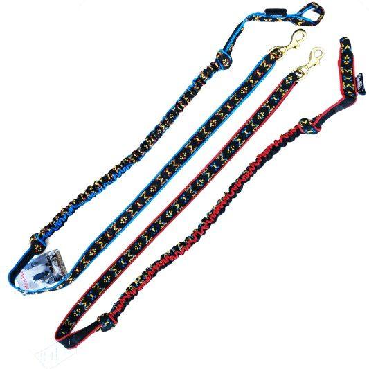 Ligne-de-trait-manmat-canicross-canivtt-mono-chien-rouge-bleu-noir
