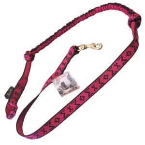 ligne de trait manmat canicross mono chien rose