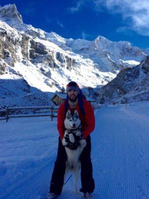 Chiot neige Eymard Brice