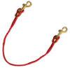 Neckline leader – ligne de cou 2 chiens – corde et mousqueton
