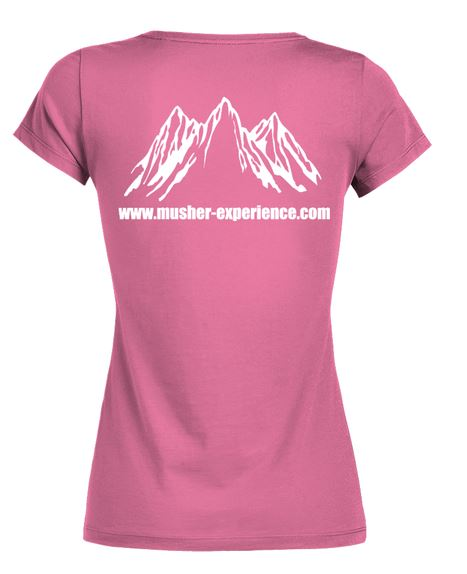tshirt life is bette with canicross dos musher experience