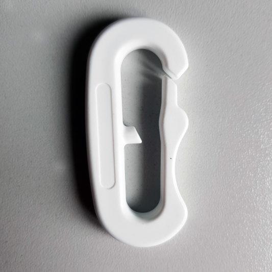 Snap Ultralight Fixlock, mousqueton ultra léger, ligne de cou, ne gèle pas