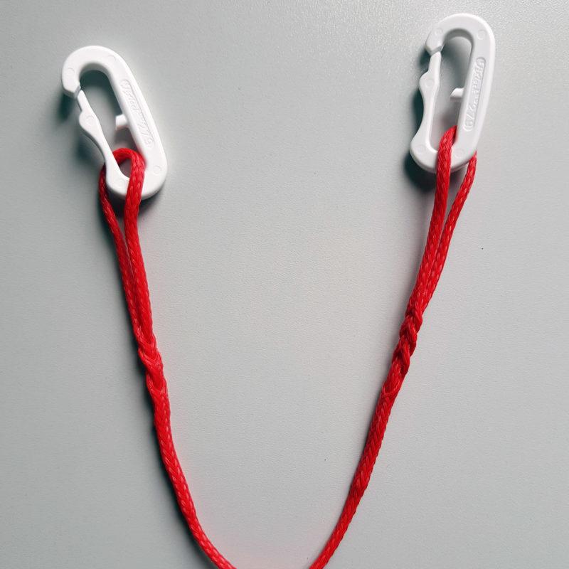 Snap Ultralight Fixlock, mousqueton ultra léger pour neckline ligne de cou attelage caninl
