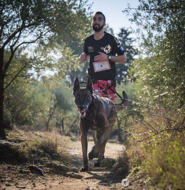 canicross des garrigues coureur runner course (7)
