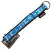 collier pour chien sport nylon manmat bleu glacial