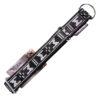 collier pour chien sport nylon manmat gris noir