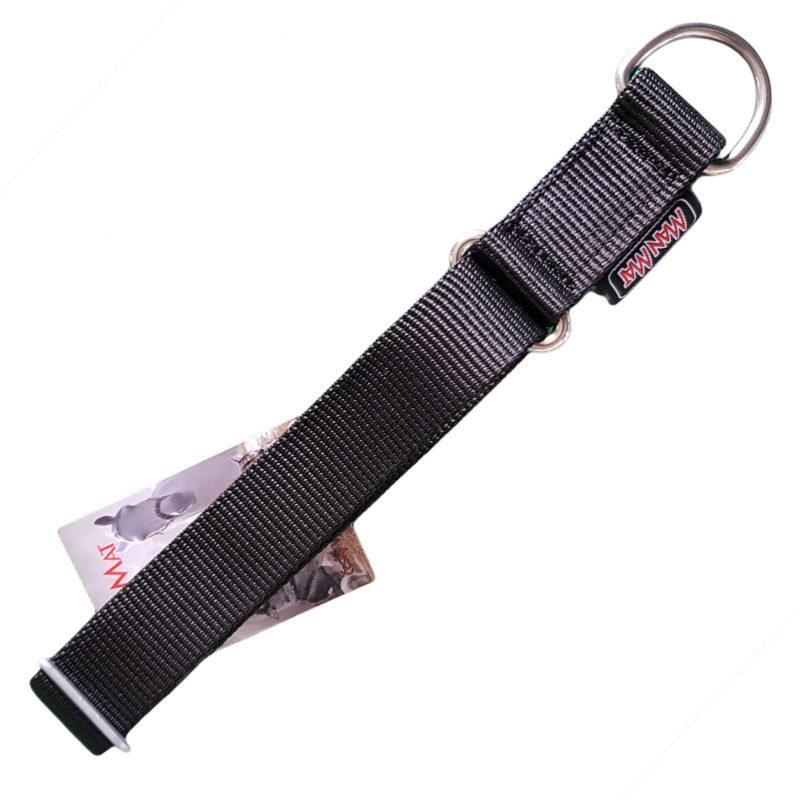 collier pour chien sport nylon reglable noir gros chien
