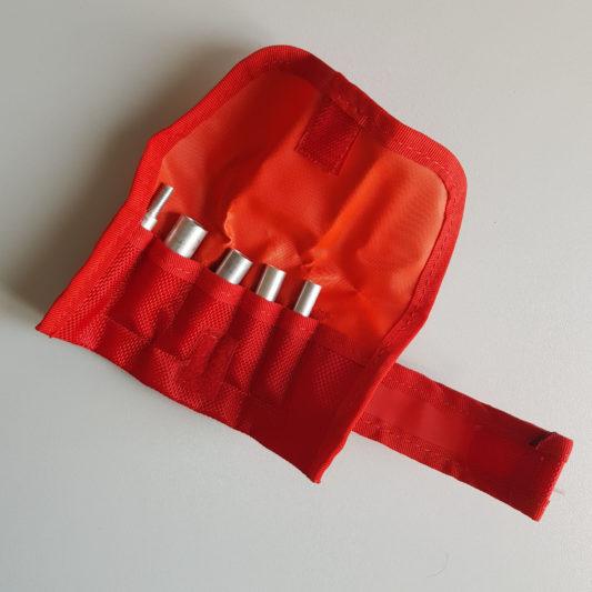 Kit épissures aiguilles à épisser pochette rouge