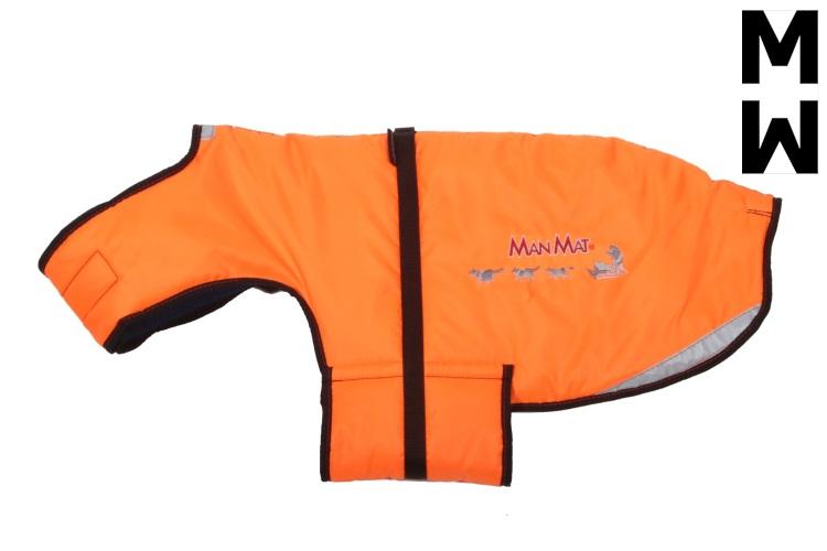 manteau pour chien thermo coat manmat orange