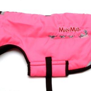 manteau pour chien thermo coat manmat rose