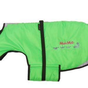 manteau pour chien thermo coat manmat vert